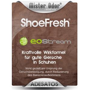 EOStream ShoeFresh, entfernt Fussgeruch in Schuhen, 150 ml Sprühflasche
