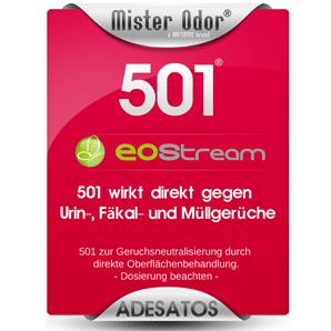 Extreme Gerüche entfernen mit EOStream BDLC-501 Flüssigkeit
